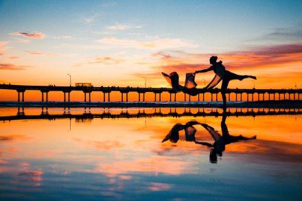 ballet-beach-clouds-898220